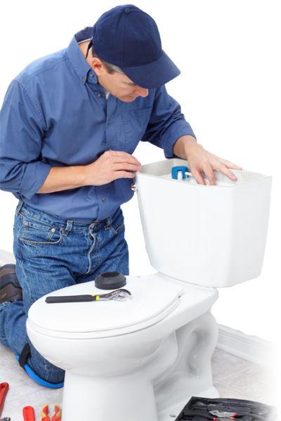 Cracked Toilet Bowl Tank